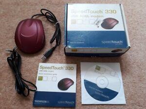 Coffret Thomson Alcatel Speedtouch 330 Adsl Usb Modem-windows, Mac Os, Linux-afficher Le Titre D'origine Prix De Vente Directe D'Usine