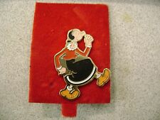 1979 OLIVE OYL PINBACK PIN CLOISONNE ENAMEL KING FEATURES  NEW OLD STOCK