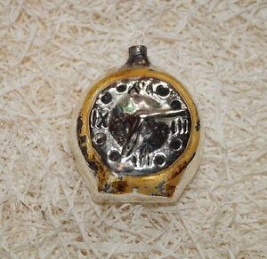 Alter Christbaumschmuck Wecker Uhr Um 1930