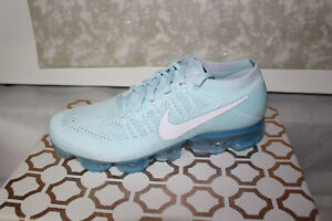 new style 0d9b8 b2dd3 Details about Nike Air Vapormax Flyknit 849558-404 Glacier Blue, Brand New  Size 9.5