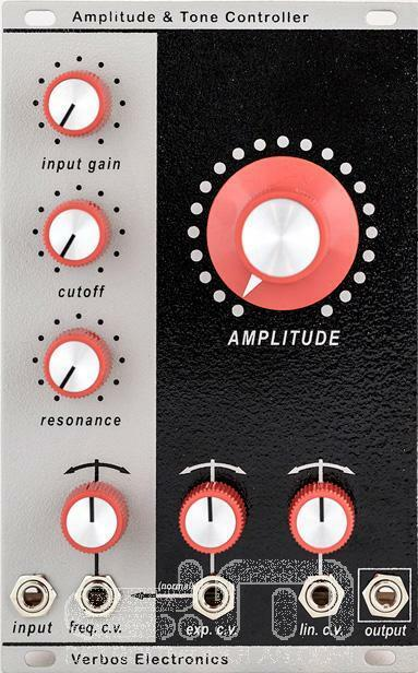Verbos Amplitude & Tone Controller   Eurorack Module   NEW   [DETROIT MODULAR]
