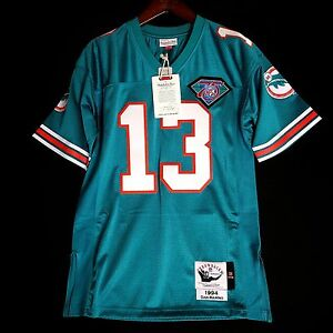 ec39d9694 Image is loading 100-Authentic-Dan-Marino-Dolphins-Mitchell-Ness-NFL-