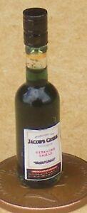 Analytique Échelle 1:12 Bouteille En Verre Avec Un Jacobs Creek Red Wine Label Tumdee Maison De Poupées-afficher Le Titre D'origine