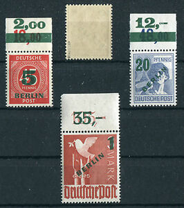 Berlin-64-67-P-OR-postfrisch-Nr-65-BPP-geprueft-66-P-OR-Michel-633-00
