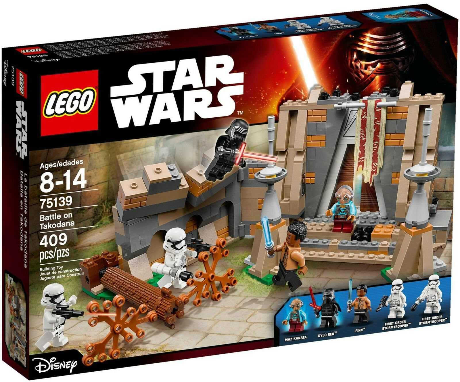 LEGO Star Wars - 75139 Battle on on on Takodana mit Kylo Ren & Maz Kanata - Neu & OVP 9175b3
