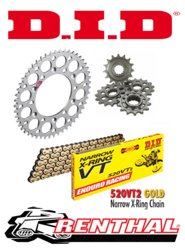DID Chain /& Sprocket Kit to fit KTM 620 LC4 Renthal LC4E Enduro 1997-1998