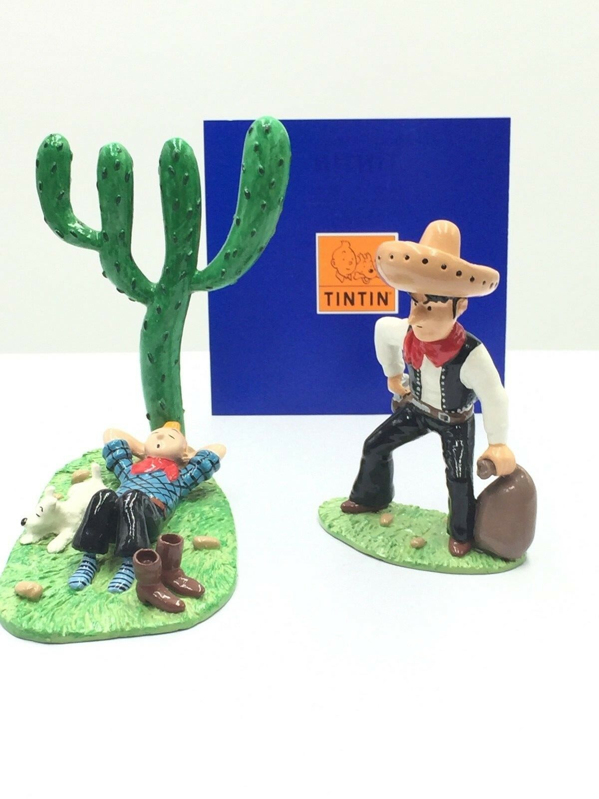 Figurine Tintin Dort - Bandit   Pixi [Etat Neuf Certificat]
