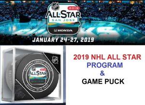 brand new b27d5 99892 Image is loading 2019-NHL-ALL-STAR-GAME-PROGRAM-amp-GAME-