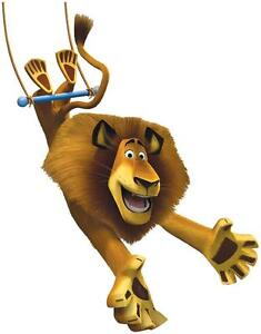 Image Is Loading Alex Lion Madagascar 3 Movie Decal Removable Wall