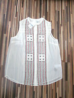 NWT STUNNING NEXT BEADED TUNIC STYLE TOP SIZE 12 RRP 40.00