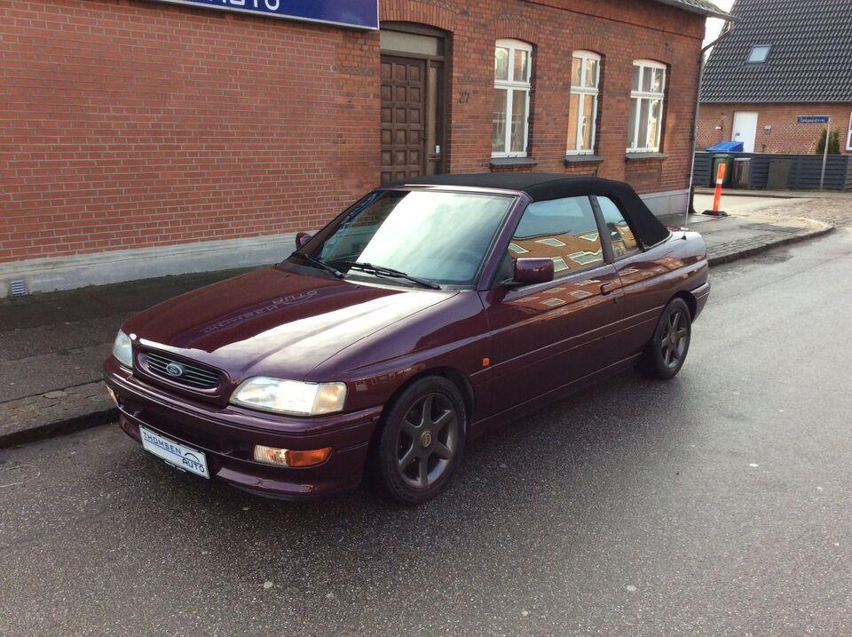 Ford Escort 1,8 XR3i Cabriolet Benzin modelår 1994 km