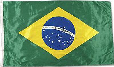 United States US or Brazil Brazilian Flag Patch Brasil Jiu Jitsu MMA UFC NEW