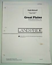 Great Plains Rc Amp Rcm 5015 Rotary Cutter Mower Parts Manual Catalog Land Pride