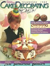 WILTON CAKE DECORATING YEARBOOK 1984 YEARBOOK SOFTCOVER GREAT IDEAS FOR CAKES