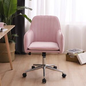 Pink Velvet Office Ergonomic Chair Executive Chair Forhome Office Computer Chair Ebay