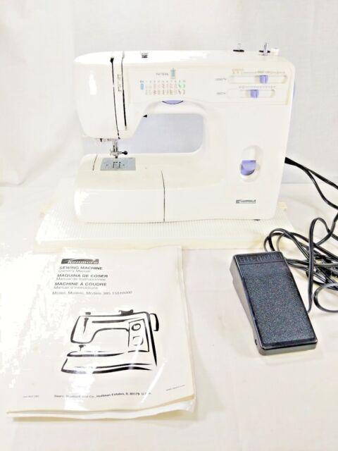 Kenmore Model 40 Electric Sewing Machine Wmanual Accessories Mesmerizing Kenmore Sewing Machine Manuals