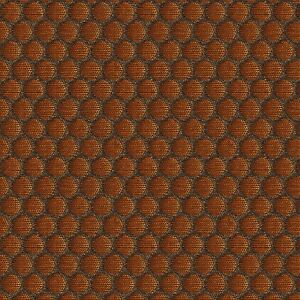 Carnegie 360 Copper Penny Mini Circles Mid Century Modern Upholstery