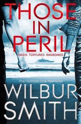 1 of 1 - WILBUR SMITH __ THOSE IN PERIL _ HARD BACK _ SHOP SOILED __ FREEPOST UK