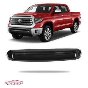 Fit Toyota Tundra 2014-2020 TRD Pro Front Hood Bulge Aftermarket Gloss Black