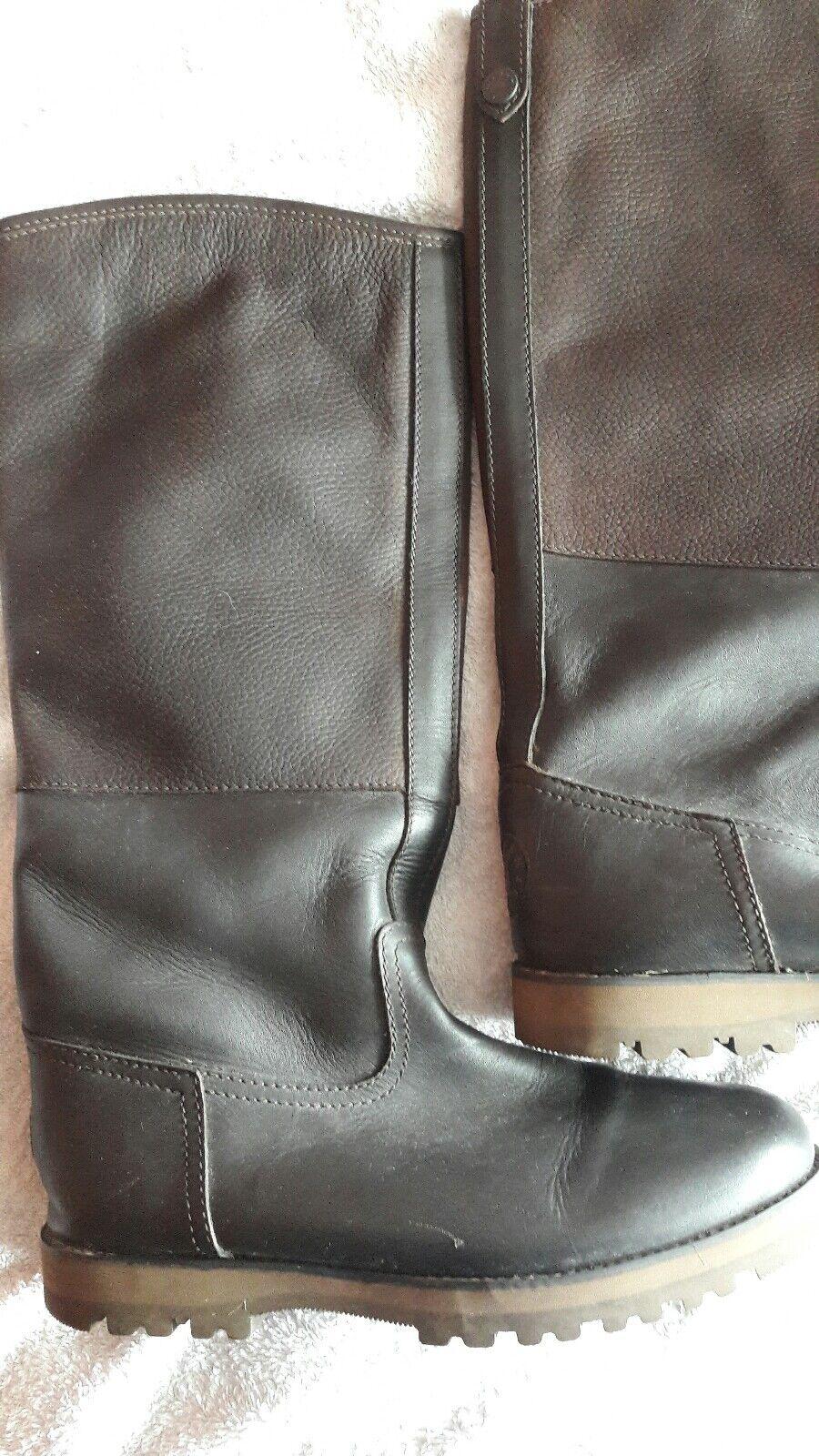 Kinpurnie leather boots.  size 8  order now enjoy big discount