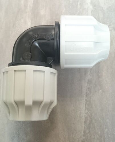 25MM MDPE EQUAL ELBOW