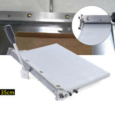 Manual Leather Folding Machine For Leather Pu Sheet Leather Creasing 350mm New