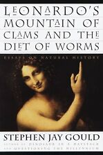 Leonardo's Mountain of Clams and the Diet of Worms : Essays on Natural History by Stephen Jay Gould (1998, Hardcover)