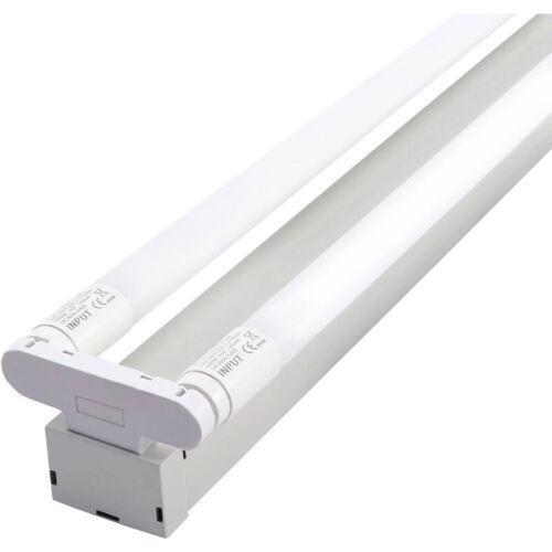 6ft 180cm LED Fluorescent Light Fittings t8 Tube Twin Batten-Tageslicht 80w