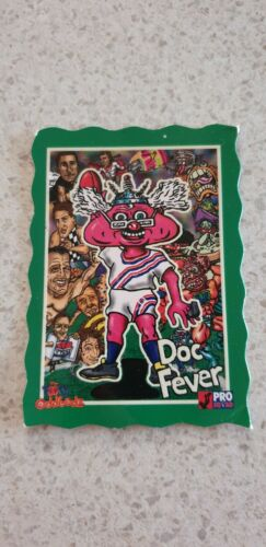 Doc Fever The Footy Oddbodz football card hyper vision heads zone hot glo cap