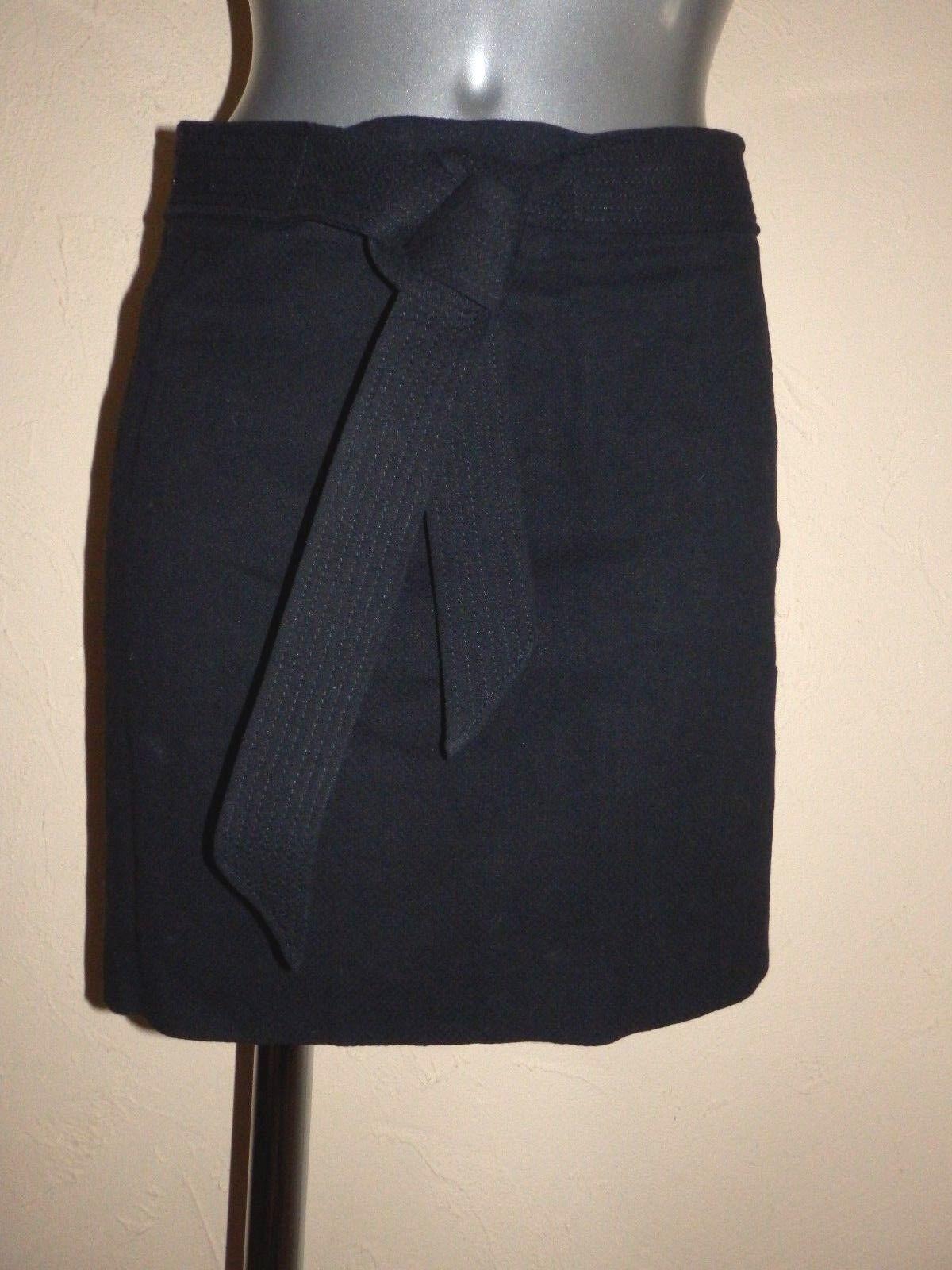 Isabel Marant - jupe en lin et coton black - size 36fr - authentique