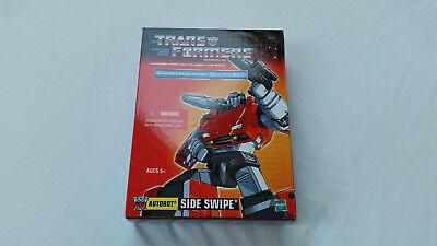 *** Transformers Riemettere Sideswipe Nuovo In Scatola Sigillata ***-mostra Il Titolo Originale