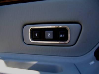 D Ford Fusion 2002 Chrom Rahmen für Schalter Warnblinker Typ 1 Edelstahl pol