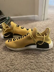 detailed look 454b4 e7c0e Details about Adidas Human Race NMD Yellow Size 12