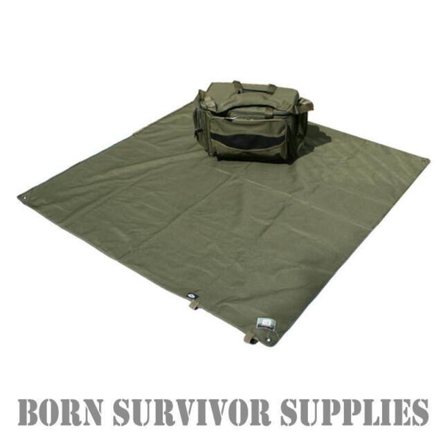 HEAVY DUTY ALL PURPOSE GROUND SHEET 145cm - Bivvy Basha Tarp Awning Tent Camping