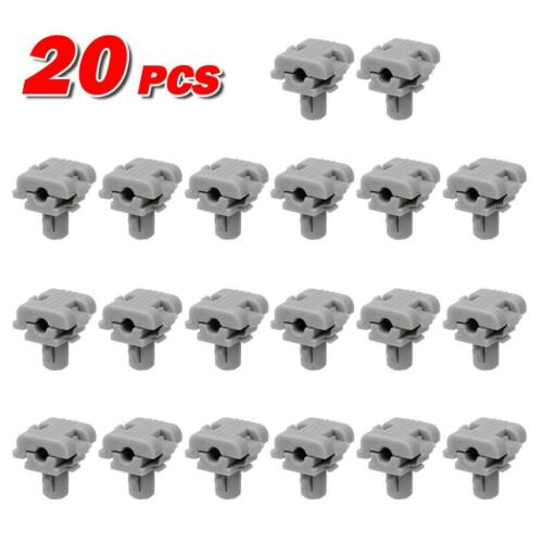 20pcs Door Hardware Tail Gate Lock Handle Clips Retainer Fastener for Fleetwood