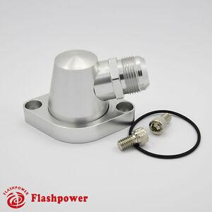 Billet-Aluminum-Water-Neck-Thermostat-Housing-Chevy-Small-Big-Block-SBC-BBC-16AN