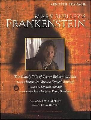 Mary Shelley's Frankenstein (Newmarket Pictorial Moviebook)-ExLibrary