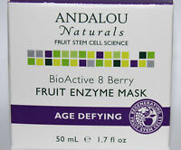 Andalou Naturals Fruit Stem Cell Bio Active 8 Berry Fruit Enzyme Mask 1.7 Oz