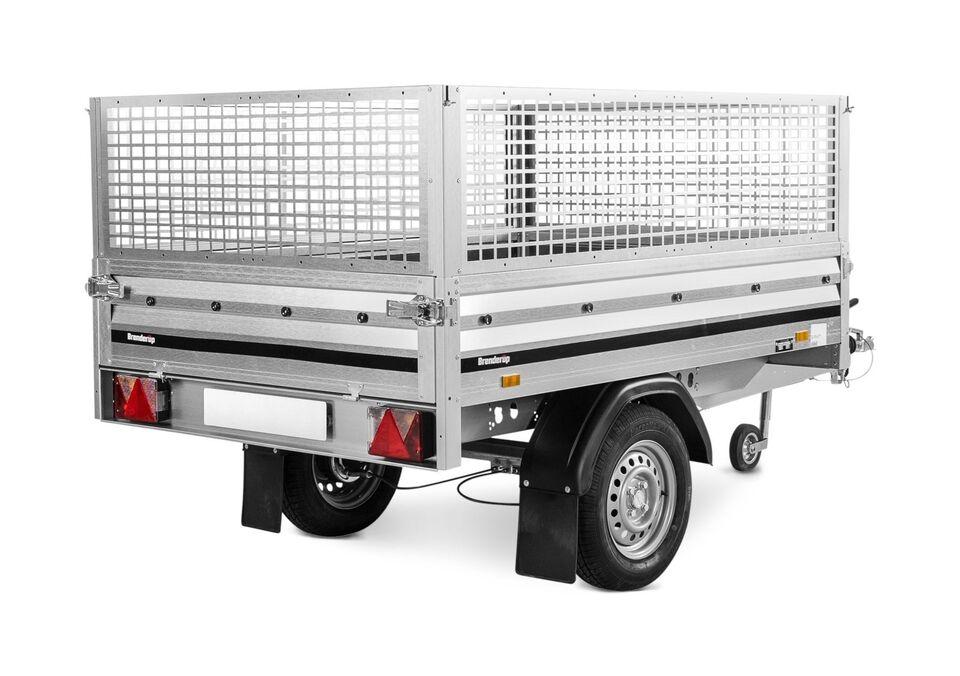 Ladtrailer, Brenderup 3205 S, lastevne (kg): 605