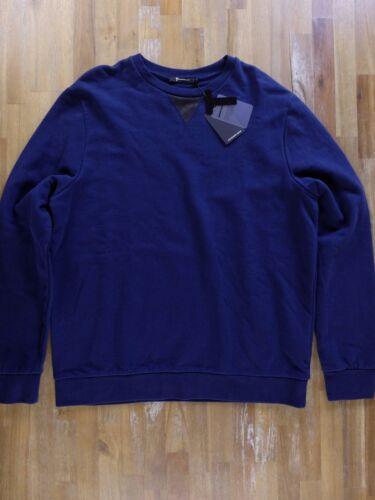 bleu moyenne shirt Wang Taille Sweat 2110057674081 en coton authentique Alexander B6AxxqwHX
