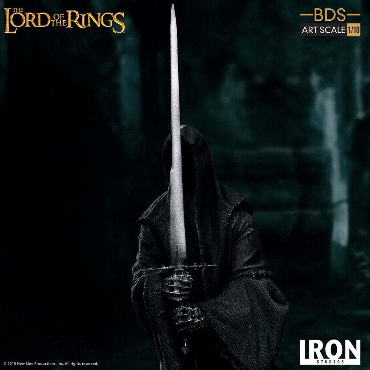 Iron Studios WBLOR16119-10 1 10 Lord of the Rings Nazgul BDS Art Statue Model