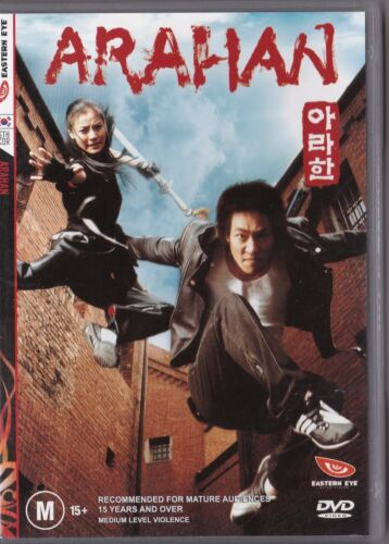 1 of 1 - Arahan 2004 DVD Ex-rental in great condition Korean Action Comedy FREE POSTAGE