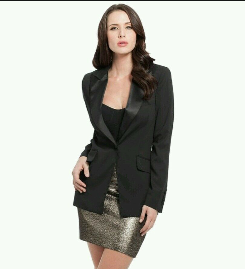 NWT GUESS by Marciano Metallic Skirt size 6