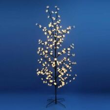 FDL 22150 CRYSTAL EFFECT GLITTER ACTION TREE WITH WARM WHITE LEDS