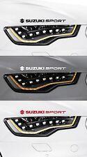 For SUZUKI  - 2 x SUZUKI SPORT - CAR DECAL STICKER ADHESIVE - SWIFT - 300mm long