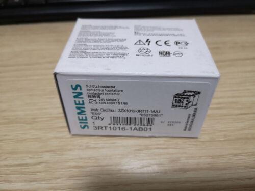 1PC nouveau Siemens disjoncteur 3RT1016-1AB01 3RT10161AB01 en Boîte TT4