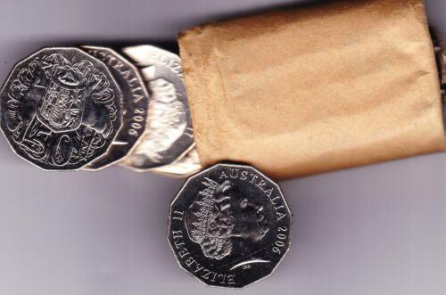"""2006 AUSTRALIAN 50c UNC COIN EX MINT ROLL /""""AUSTRALIAN FIFTY Cent"""