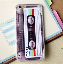 for iPhone 6+ / 6S+  - Ultra Thin Soft TPU Rubber Skin Case Cover Cassette Tape