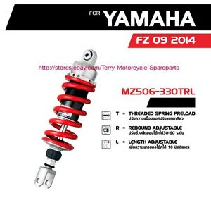 Yamaha-MT09-FZ09-2014-Shock-Absorber-Rear-Mono-YSS-MZ456-Series-GAS-Hydrolic