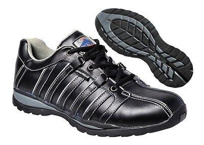 Baskets De Sécurité Noir Homme Femme Noir Décontracté Travail Chaussures Chaussures Bottes FW33 | eBay